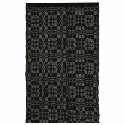 Thistle Black/Light Grey Indoor/Outdoor Area Rug Rug Size: 8 x 10