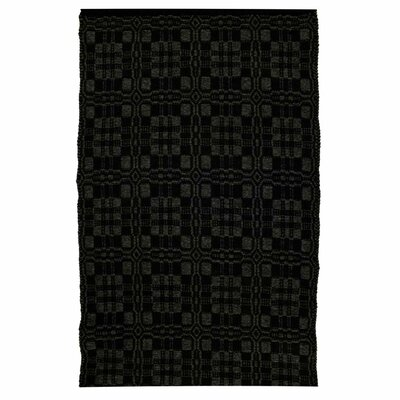 Duncan Black/Grey Indoor/Outdoor Area Rug Rug Size: 8 x 10