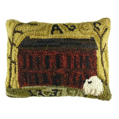 Primitive Brick House Lumbar Pillow