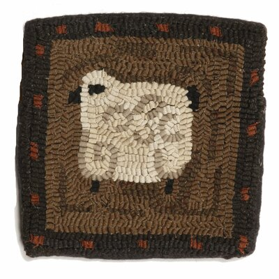 Primitive Curley Throw Pillow