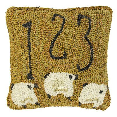 Primitive Counting Sheep Throw Pillow