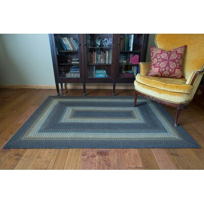 Mckinley Black Indoor/Outdoor Area Rug Rug Size: 4 x 6