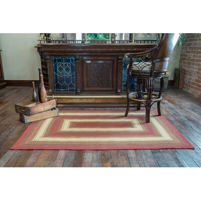 Santa Clara Red Indoor/Outdoor Area Rug Rug Size: 23 x 39