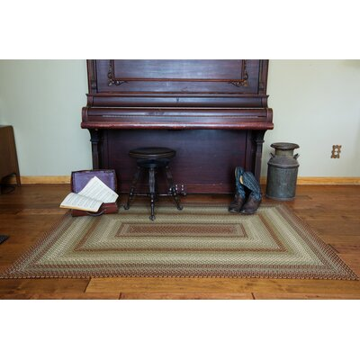Winter Wheat Green Indoor/Outdoor Area Rug Rug Size: 5 x 8