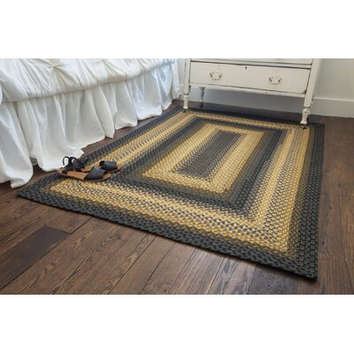 Chapel Hill Gold Area Rug Rug Size: 18 x 26
