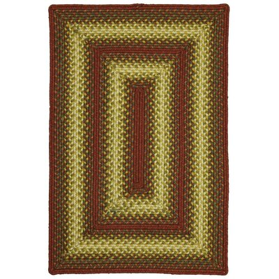 Santa Clara Red Indoor/Outdoor Area Rug
