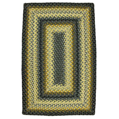 Chapel Hill Braided Area Rug Rug Size: Oval 23 x 39