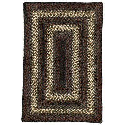 Montgomery Braided Indoor/Outdoor Area Rug Rug Size: Oval 1'8