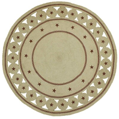 Texas Star Beige Area Rug