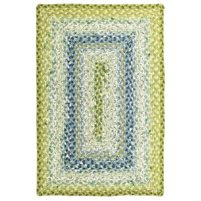 Seascape Braided Area Rug Rug Size: Rectangle 18 x 26