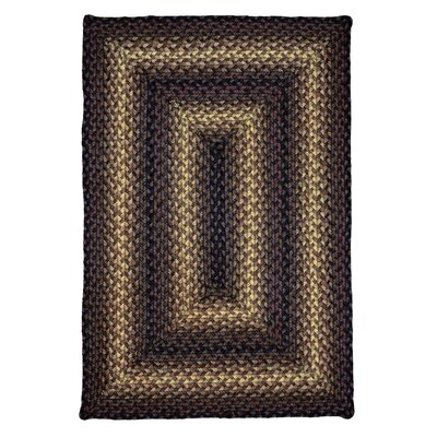 Brown Indoor/Outdoor Area Rug Rug Size: 18 x 26