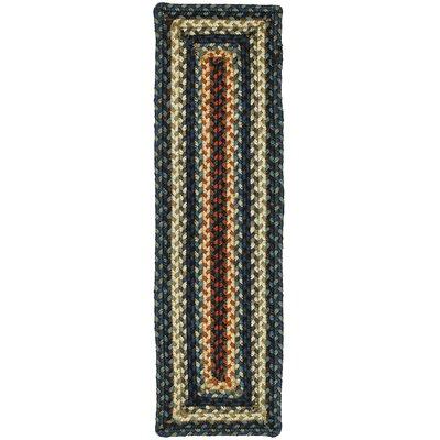 Artemis Blue Stair Tread Rug Size: 8 x 24