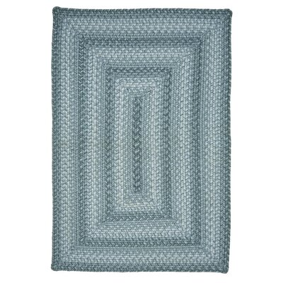Pebble Gray Indoor/Outdoor Area Rug Rug Size: 18 x 26