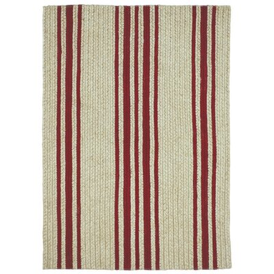 Baker Farmhouse Red/Beige Area Rug Rug Size: 18 x 26