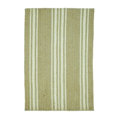 Granger Farmhouse Brown/White Area Rug Rug Size: 18 x 26