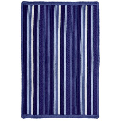 Portsmouth Blue Indoor/Outdoor Area Rug Rug Size: 5 x 8