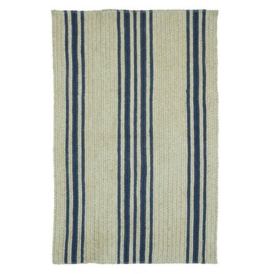 Mason Farmhouse Beige/Blue Area Rug Rug Size: 18 x 26