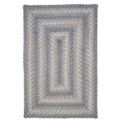 Pewter Gray Area Rug Rug Size: 23 x 39