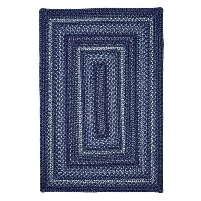 Indigo Indoor/Outdoor Area Rug Rug Size: 2'3