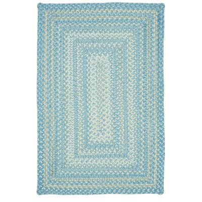 Blue Indoor/Outdoor Area Rug Rug Size: 5 x 8