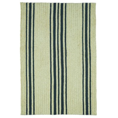 Taylor Farmhouse Jute Brown Area Rug Rug Size: 5 x 8