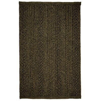 Laguna Mocha Braided Indoor/Outdoor Area Rug Rug Size: 5 x 8