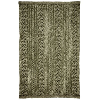 Laguna Sand Braided Indoor/Outdoor Area Rug Rug Size: 6 x 9