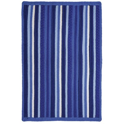 Portsmouth Blue Indoor/Outdoor Area Rug Rug Size: 2' x 3'