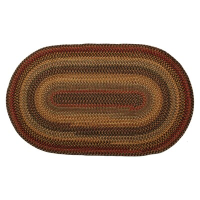 Wool Budapest Area Rug Rug Size: Oval 6 x 9