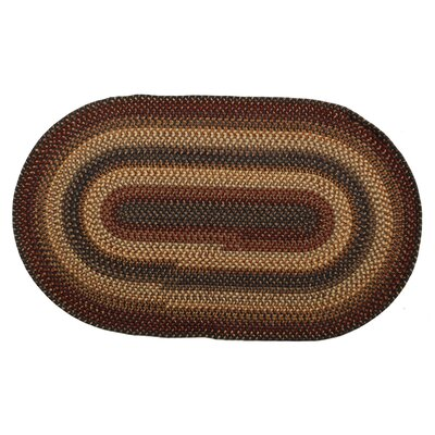 Wool Cambridge Area Rug Rug Size: Oval 18 x 26