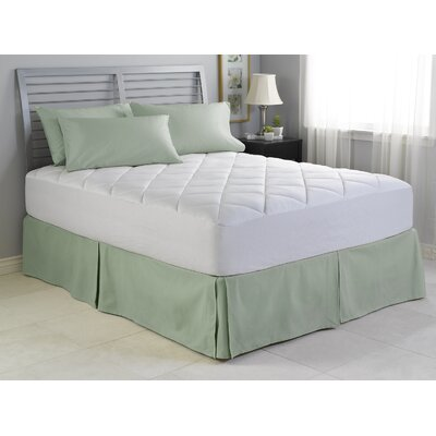 Spring Air Illuna Plush Comfort Mattress Pad Size: King