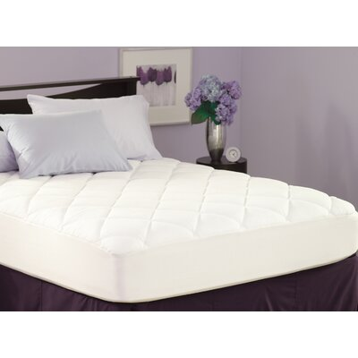 Spring Air Stain Protection Mattress Pad Size: Twin XL
