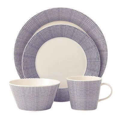 Royal Doulton Pacific 4 Piece Dinnerware Set 40009463