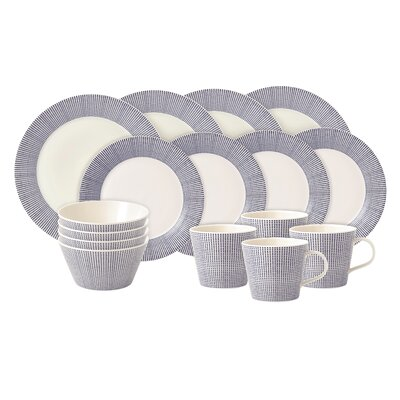 Royal Doulton Pacific 16 Piece Dinnerware Set 40009464