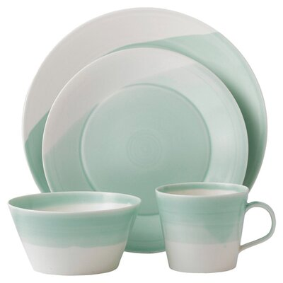 1815 4 Piece Dinnerware Set 1815TW25082