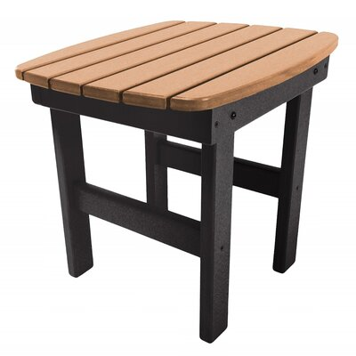 Essentials Side Table Finish: Black/Cedar