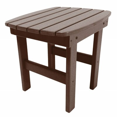 Essentials Side Table Finish: Chocolate