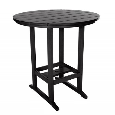 Essentials Bar Table Finish: Black