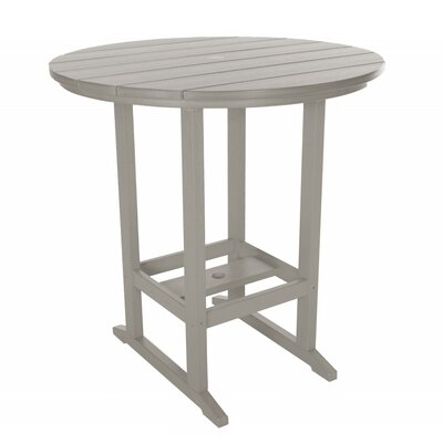 Essentials Bar Table Finish: Gray