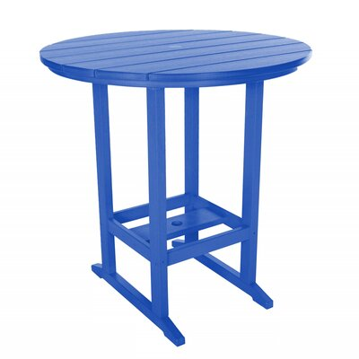 Essentials Bar Table Finish: Blue