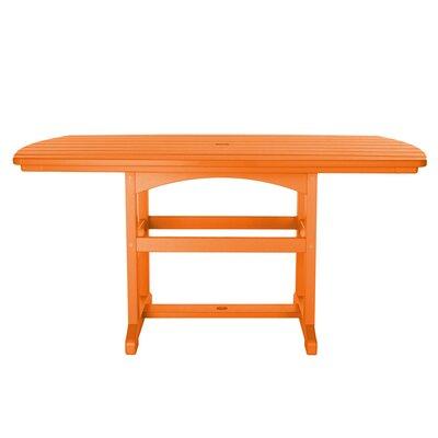 Dining Table Finish: Orange