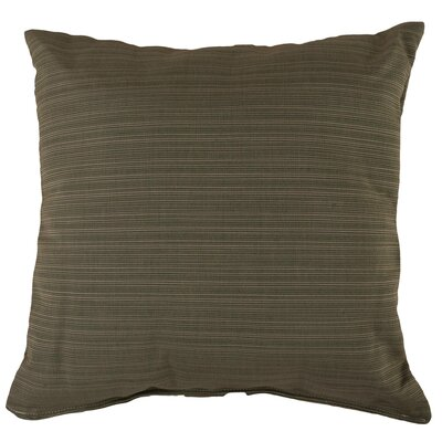 Halliburton Indoor/Outdoor Sunbrella Throw Pillow Color: Dupione Laurel, Size: 18 x 18