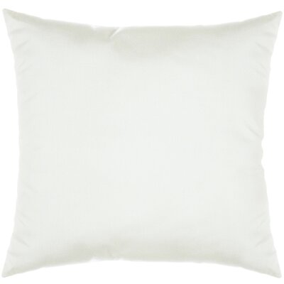 Indoor/Outdoor Sunbrella Throw Pillow Color: Spectrum Eggshell, Size: 18