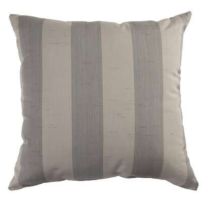 Indoor/Outdoor Sunbrella Throw Pillow Color: Decade Pewter