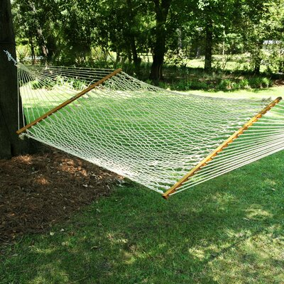 Large Original DuraCord Rope Tree Hammock Color: Oatmeal