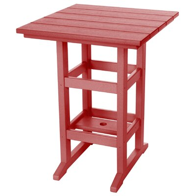 Pawleys Island Console Table Color: Red