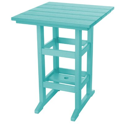 Pawleys Island Console Table Color: Turquoise