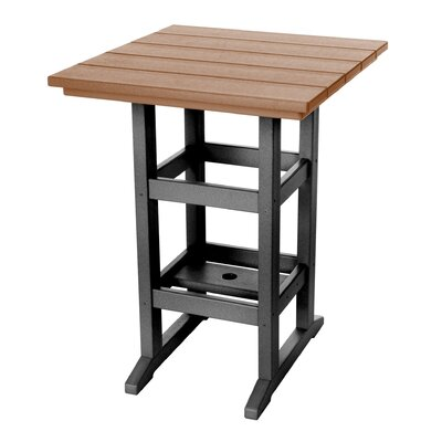 Pawleys Island Console Table Color: Black/Cedar
