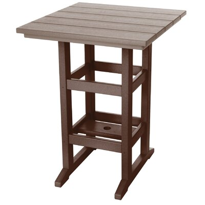 Pawleys Island Console Table Color: Chocolate/Weatherwood