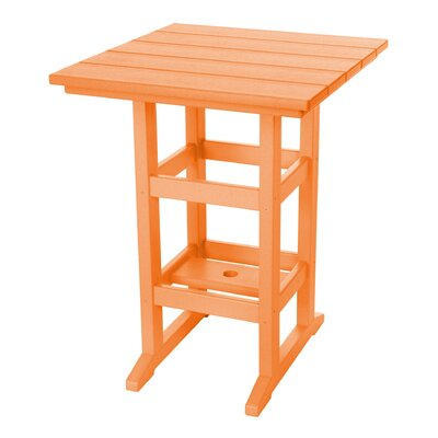 Pawleys Island Console Table Color: Orange